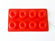 Форма силиконовая на планшете из 8-ми 28,5*16,5 cm. (d 6 cm, h 2 cm.)