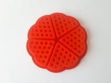 Форма силиконовая для выпечки вафель(5 шт)