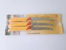 Набор ножей металлических из 3-х