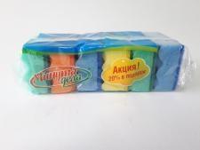 Губки кухоннi  Минута дела  Максi  з хвилястою поверхнею 5шт+1шт  19662 (42)