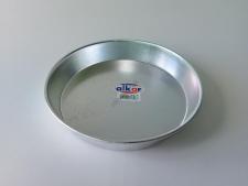 Противень алюминиевый круглый d 26,5 cm, 5 cm.