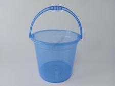 Ведро пластмассовое прозрачное