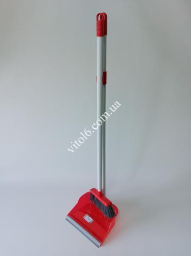 Совок зі щіткою для підлоги  Zambak  Z-139 (12шт)