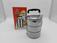 Судок контейнер нержавейка з 3-х 13,5*5,8 см VT6-20218(30шт)