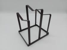 Підставка метал настільна для кришок на 2 відділення 15*13*16 см VT6-20246(36шт)