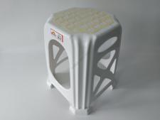 Табурет  8-мигранний TВ-235 белый (50шт)